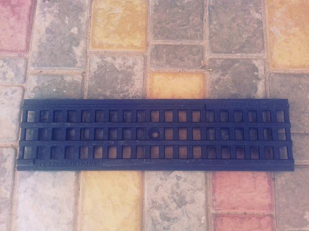 Решетка водоприемная PolyMax Basic  пластиковая ячеистая