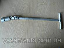 Ключ свечной 21 Т-образный длина 335мм с шарнирниром Украина КООП