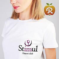 Печать логотипов на футболках