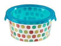 Емкость для пищевых продуктов цветные круги 0,5 л DECO CHEF Curver 221920