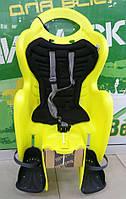 BELLELLI MR FOX Standart B-fix Hi-Vision Дитяче велокрісло SAD-84-59 до 22кг неоново-жовте
