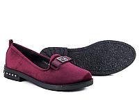 Женские туфли на низком ходу оптом от фирмы Башили YJ73-3 (8пар 36-41)