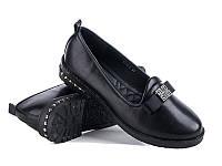 Женские туфли на низком ходу оптом от фирмы Башили YJ73-5 (8пар 36-41)