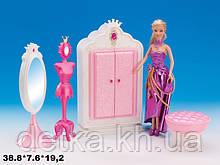 Мебель для кукол Gloria 1209 гардероб