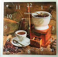 Часы настенные,картина ( 27x27 см) кварцевые
