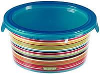 Емкость для пищевых продуктов цветные полоски 0,5 л DECO CHEF Curver 223193