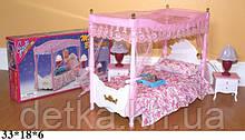 Мебель для кукол Gloria 2314 спальня свет