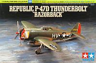 P-47D THUNDERBOLT 'RAZORBACK' 1/72 TAMIYA 60769