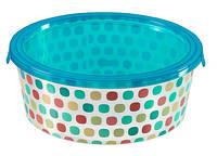 Емкость для пищевых продуктов цветные круги 1,2 л DECO CHEF Curver 221962