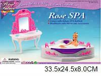 Мебель для кукол Gloria 2613 ванная комната