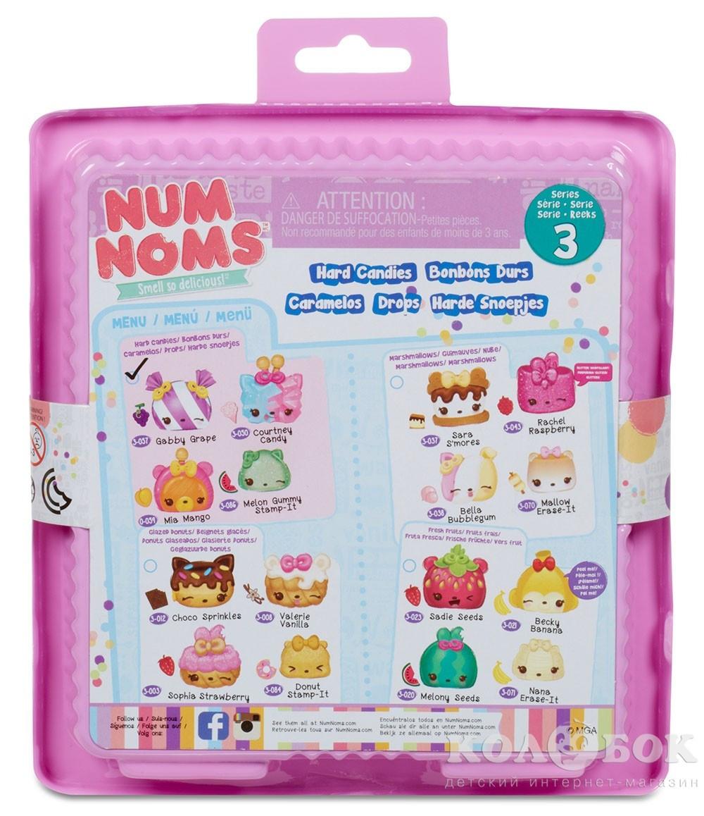 Набор ароматных игрушек NUM NOMS S3 - КОНФЕТКИ (3 нама, 1 ном, с аксессуарами) 546368