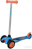 Скутер детский лицензионный - Hot Wheels (3-х колесный, тормоз)