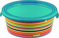 Емкость для пищевых продуктов цветные полоски 1,2 л DECO CHEF Curver 223192