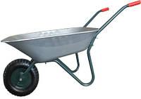 Тачка садовая одноколесная Forte WB6407A, объем вода/песок 65/142 л, грузоподъемность 120 кг BPS