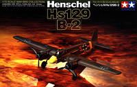Henschel Hs129B-2 1/72 TAMIYA 60730