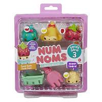 Набор ароматных игрушек NUM NOMS S3 - ОВОЩИ & ФРУКТЫ (3 нама, 1 ном, с аксессуарами)  546351