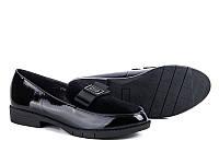 Женские туфли на низком ходу оптом от фирмы Башили YJ80-1 (8пар 36-41)