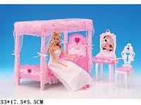 Мебель для кукол спальня с трюмо Gloria 2614