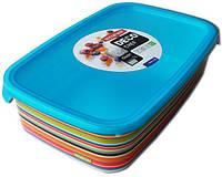 Емкость для пищевых продуктов цветные полоски 1 л DECO CHEF Curver 223190