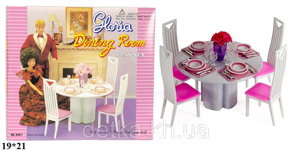 Мебель для кукол столовая Gloria 94011
