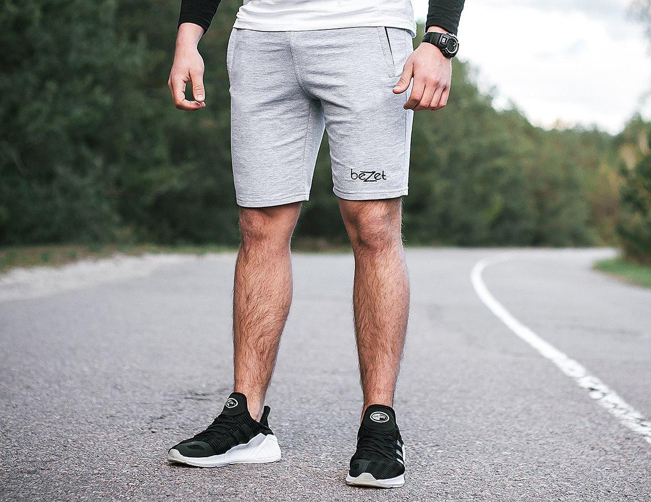 7470088e9d5ab Спортивные мужские шорты beZet Grey - купить по лучшей цене в Днепре ...