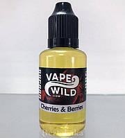Cherries & Berries | Спелая вишня + Лесные ягоды - Vape Wild (3 мг | 30 мл)
