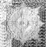 Розетка из гипса р-211 Ø1220
