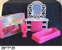 Мебель для кукол Gloria 94013 ванная комната