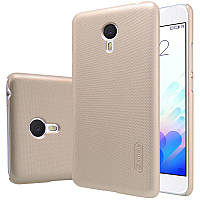 Nillkin Meizu M3 Note Super Frosted Shield Gold Чехол Накладка Бампер