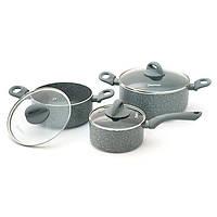 Набор посуды Fissman VULCANO 6 предметов AL-4862.6