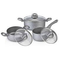 Набор посуды Fissman MOON STONE 6 предметов AL-4401.6