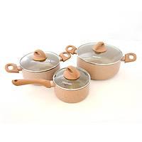 Набор посуды Fissman Latte 6 предметов AL-4952.6