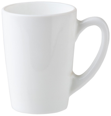 New Morning белая чашка/кружка 320 мл Luminarc H6382