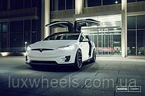 Tesla Model X на дисках Vossen NV-2
