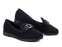 Женские туфли на низком ходу оптом от фирмы Башили YJ81-2 (8пар 36-41)