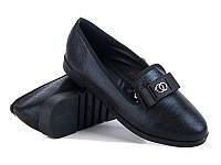 Женские туфли на низком ходу оптом от фирмы Башили YJ82-1Z (8пар 36-41)