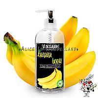 Лубрикант с ароматом банана 200 мл + вибратор гелевый зеленого цвета , фото 3