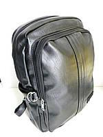 Кожаный рюкзак, городской рюкзак, молодежный рюкзак, фото 1