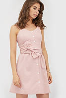 Жіноче коктейльне рожеве плаття Luzana