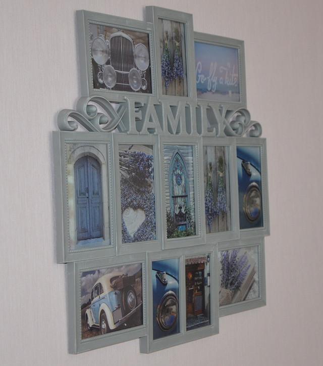 "Фоторамка, фотоколлаж ""Family"" (фото)"