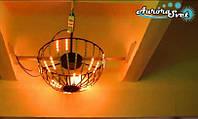 Светодиодная сфера/полусфера AS-1,  550мм, 24 луча, 12пикс/луч