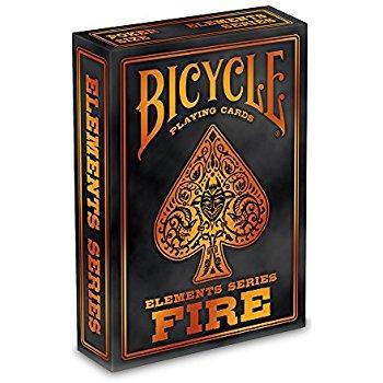 Карты игральные   Bicycle Fire