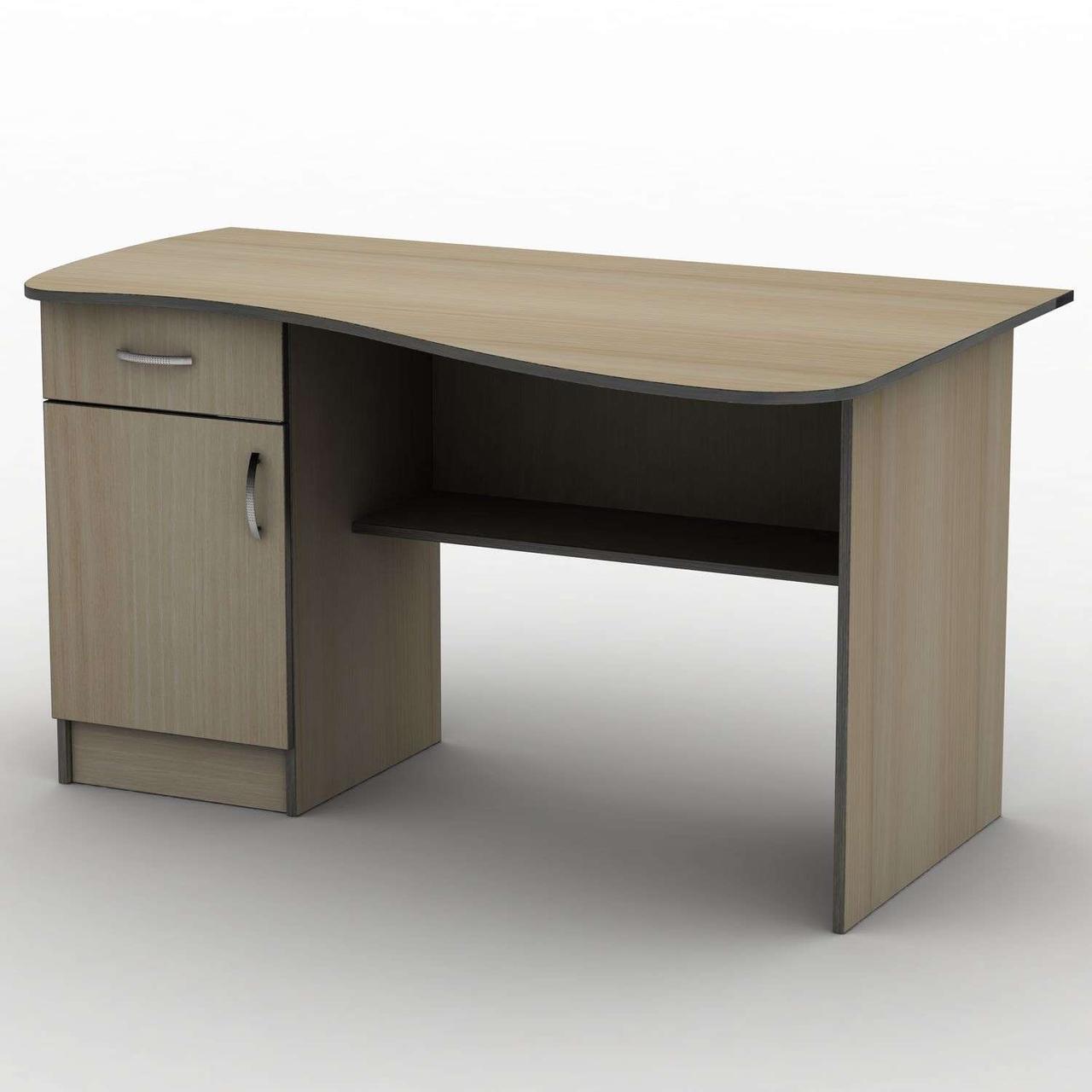 Письмовий стіл СПУ-8\2 (1400*750) Тіса меблі