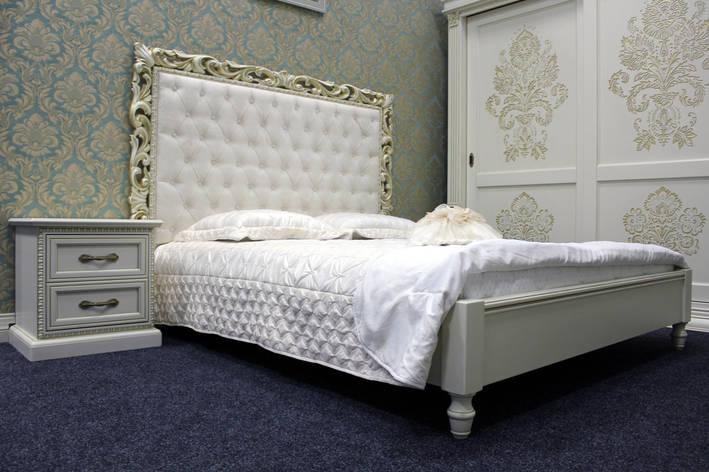 Кровать из натурального дерева(массив ольхи), фото 2