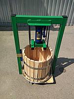 Пресс гидравлический ручной для сока 25л с домкратом, давление 5 тон.