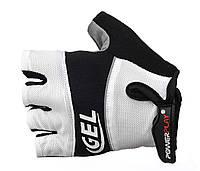 Перчатки для велосипеда с гелем на ладони Power Play