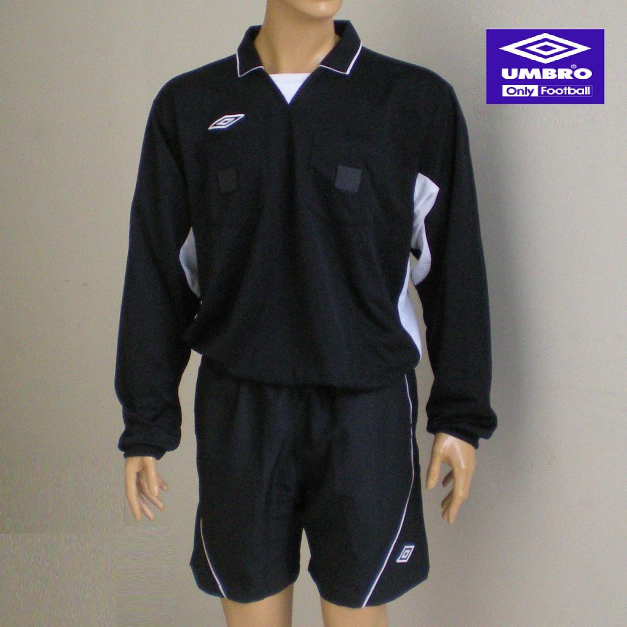 Спортивная футболка для арбитра (длинный рукав) Umbro Referee Jersey LS