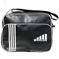 Спортивная мужская сумка из кожзама через плечо, Nike