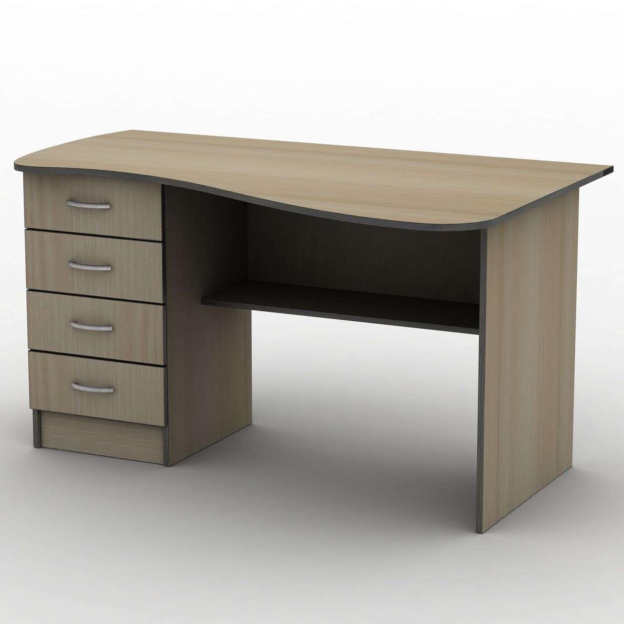 Письмовий стіл СПУ-9\2 (1400*750) Тіса меблі