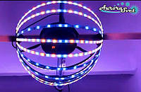 Светодиодная сфера/полусфера AS-2,  550мм, 12 лучей, 24пикс/луч
